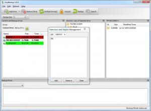Enlarge AnyBackup Screenshot