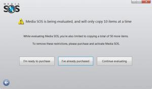Enlarge Media SOS Screenshot