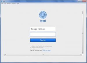 Enlarge Prezi Desktop Screenshot