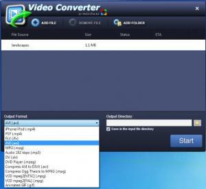 Enlarge VideoConverter Screenshot