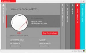 Enlarge SweetPCFix Screenshot