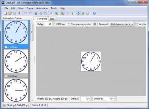 Enlarge GIF Animator Screenshot