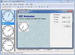 Enlarge GIF Animator Screenshot