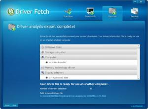 Enlarge Driver Fetch Screenshot