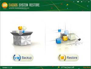 Enlarge Eassos System Restore Screenshot