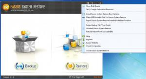 Enlarge Eassos System Restore Screenshot