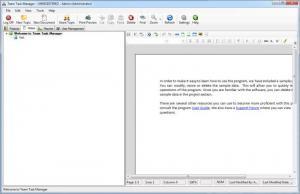 Enlarge Team Task Manager Screenshot