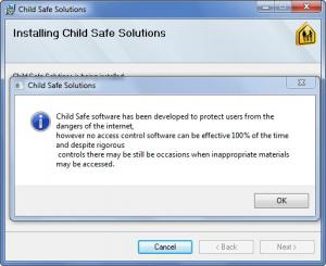 Enlarge Child Safe Screenshot