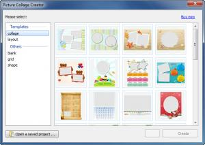 Enlarge Picture Collage Creator Screenshot