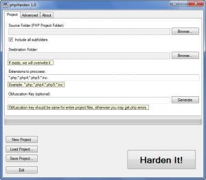 Enlarge phpHarden Screenshot