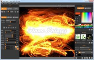 Enlarge Flame Painter Screenshot