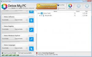 Enlarge Detox My PC Screenshot