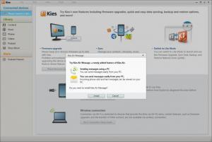 Enlarge Samsung Kies Screenshot