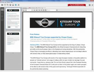 Enlarge deskPDF Reader Screenshot