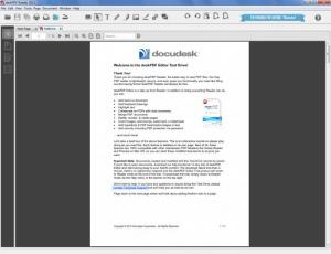 Enlarge deskPDF Reader Screenshot