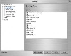 Enlarge Registry Cleaner Flash Screenshot