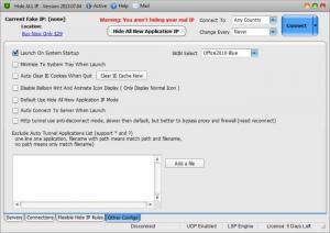 Enlarge Hide ALL IP Screenshot