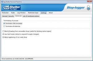 Enlarge SpyShelter Personal Free Screenshot