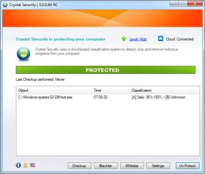 Enlarge Crystal Security Screenshot