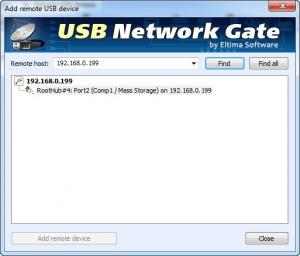 Enlarge USB Network Gate Screenshot