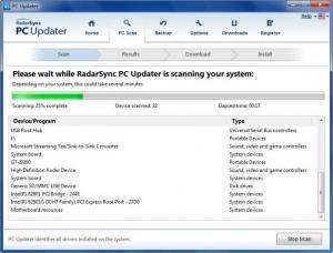 Enlarge RadarSync PC Updater Screenshot