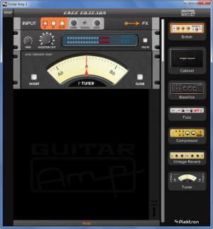 Enlarge Guitar Amp Screenshot