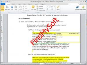 Enlarge iSkysoft PDF Editor Screenshot