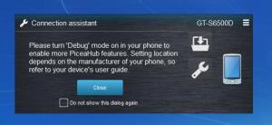 Enlarge PiceaHub Screenshot