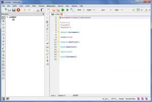 Enlarge TeXstudio Screenshot