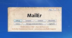 Enlarge MailEr Screenshot