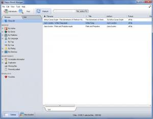 Enlarge Dapyx Ebook Manager Screenshot