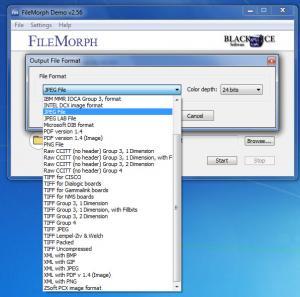 Enlarge FileMorph Screenshot