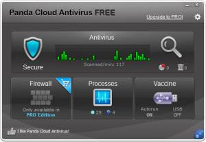 Enlarge Panda Cloud Antivirus Screenshot
