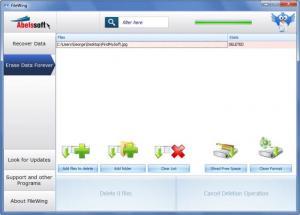 Enlarge FileWing Screenshot