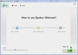 Enlarge Epubor Ultimate Converter Screenshot