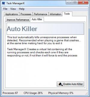 Enlarge Task ManagerX Screenshot