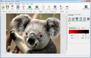 Enlarge Free Web Image Studio Screenshot
