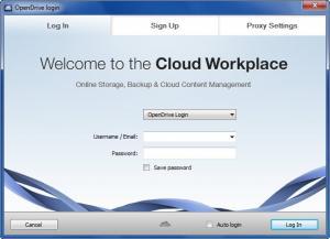 Enlarge OpenDrive Screenshot