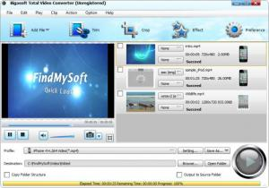 Enlarge Bigasoft Total Video Converter Screenshot
