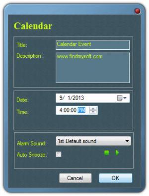Enlarge Free Countdown Timer Screenshot