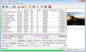 Enlarge Caesium Screenshot