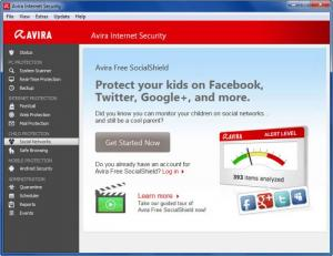 Enlarge Avira Internet Security Screenshot