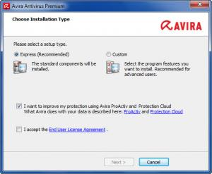 Enlarge Avira Antivirus Pro Screenshot