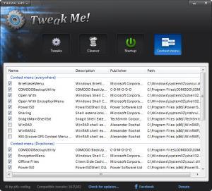 Enlarge Tweak Me! Screenshot