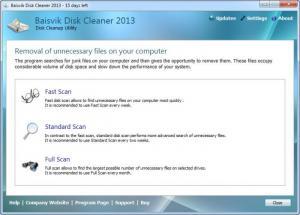 Enlarge Baisvik Disk Cleaner Screenshot