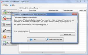 Enlarge Automatic Backup Manager Screenshot