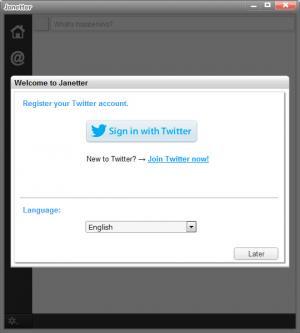 Enlarge Janetter Screenshot
