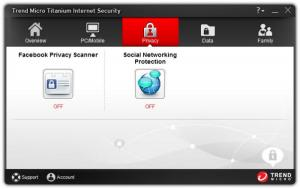 Enlarge Trend Micro Titanium Internet Security Screenshot