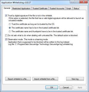 Enlarge SecureAPlus Screenshot