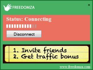 Enlarge Freedomza VPN Screenshot